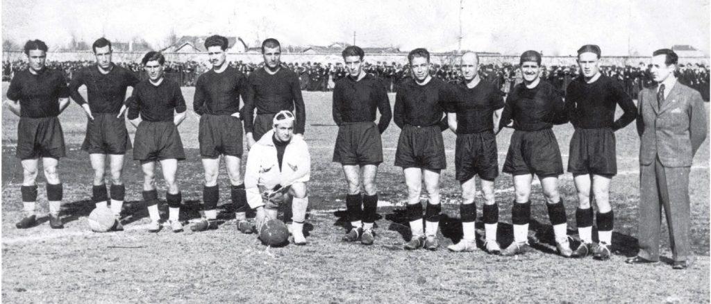 """""""Спортклуб"""" Пловдив (дн. """"Локомотив"""") през 1939 г."""